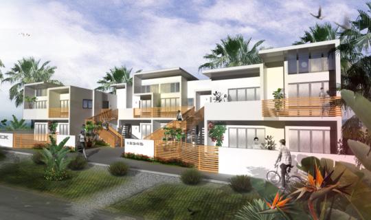 8plex-Haiti Modular Housing, Low cost prefabricated Homes