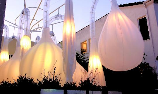 Bubbles Interactive installation California Annenberg Foundation Pasadena Art Alliance