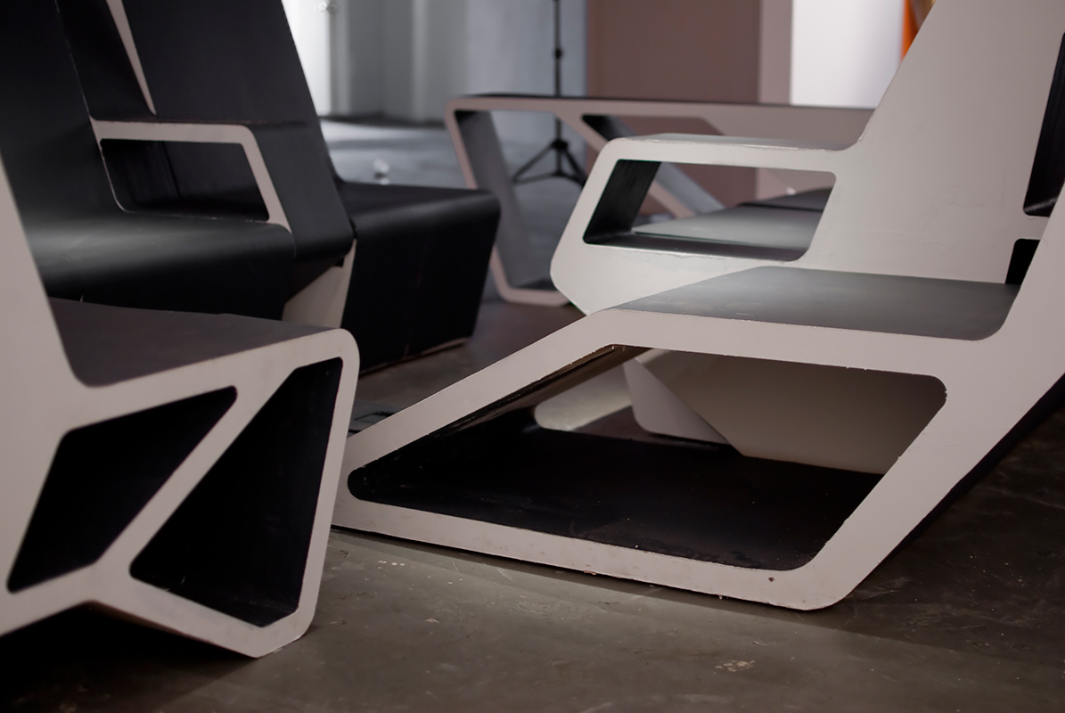 Interlace: Architectural Furniture