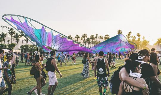 Coachella Daytime Render