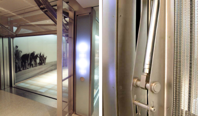 Architecture in motion: Elevator