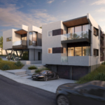 Mateo Lofts, four duplex apartments in San Clemente, CA