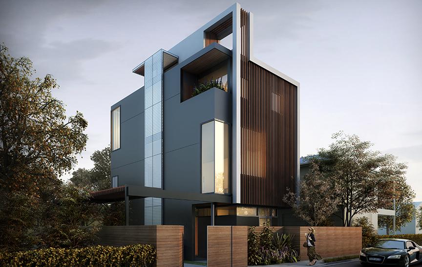Foxlin LA Ellsworth Residence