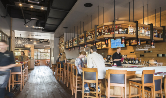 Two Left Forks Restaurant and Bar Orange County Architectural Firm
