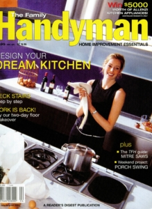 Foxlin Artchitects featured in Handyman on modern kitchens