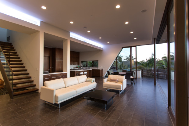 Triton Residence new build home in Southern California by Foxlin Architects