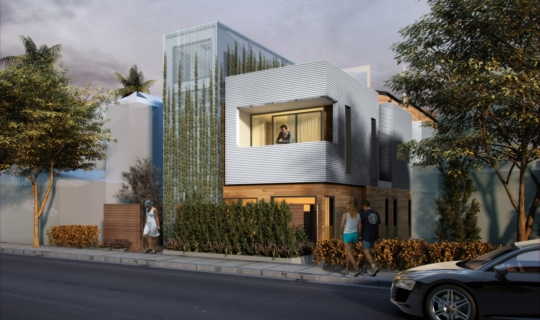 Bolboa DupleBolboa Duplex, Three-story duplex project on Balboa Boulevard in Newport Beach, CAx in Newport on Bolboa Boulevard