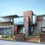 FoxLin Architects - Contemporary New Construction Residential Home Costa Mesa, California